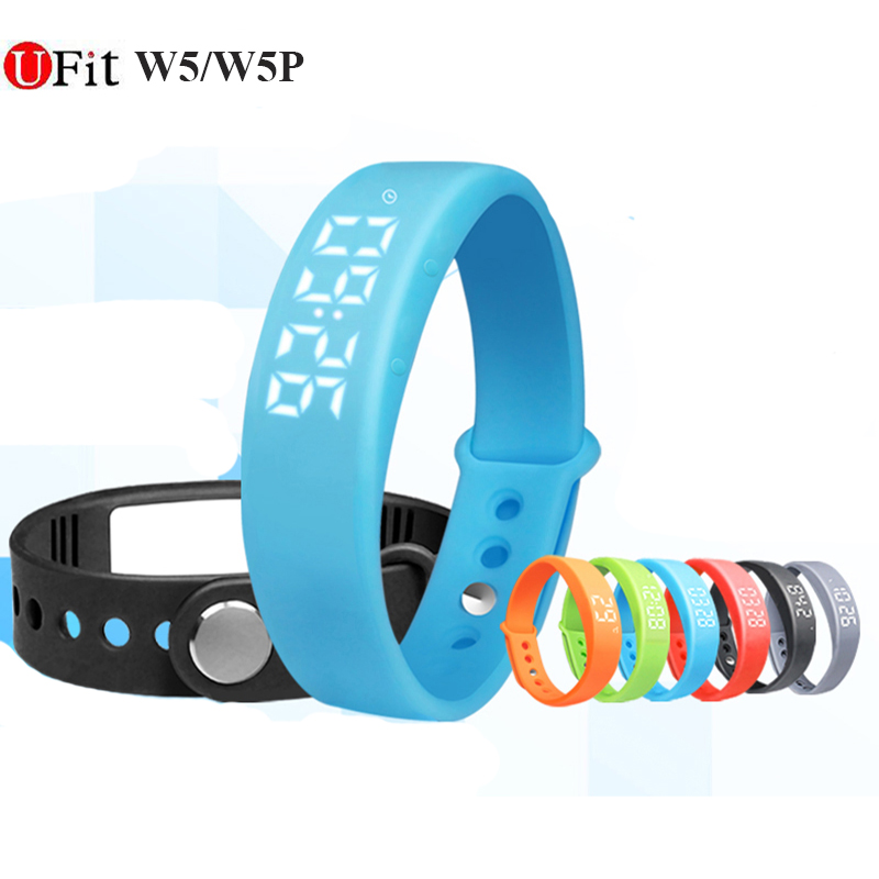 Hot sale Smart bracelets W5 wristband sport intelligent bracelet with Charger Cable Fitness sleep Tracker Passometer