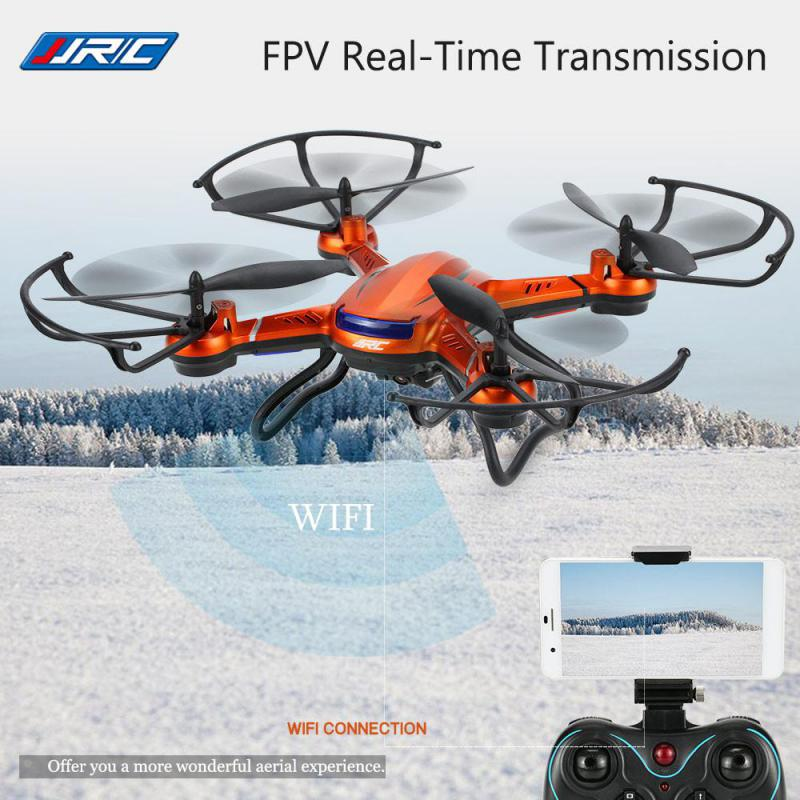 FPV RC Quadcopters With HD WIFI Camera Flying Drones Dron Helicopter Remote Control Hexacopter Toys Copters JJRC H12W headless mode jjrc h20w hd 2mp camera drone wifi fpv 2 4ghz 4 channel 6 axis gyro rc hexacopter remote control toys nano copters