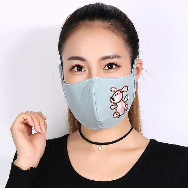 masque anti pollution chien