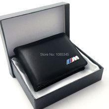 M Cuero Cuero Hombre permiso de Conducir Titular de la Tarjeta de Crédito de Tarjetas de IDENTIFICACIÓN para BMW Hombres X1 X3 X5 X6 Serie 3 Serie 5 Car-Styling Accesorios