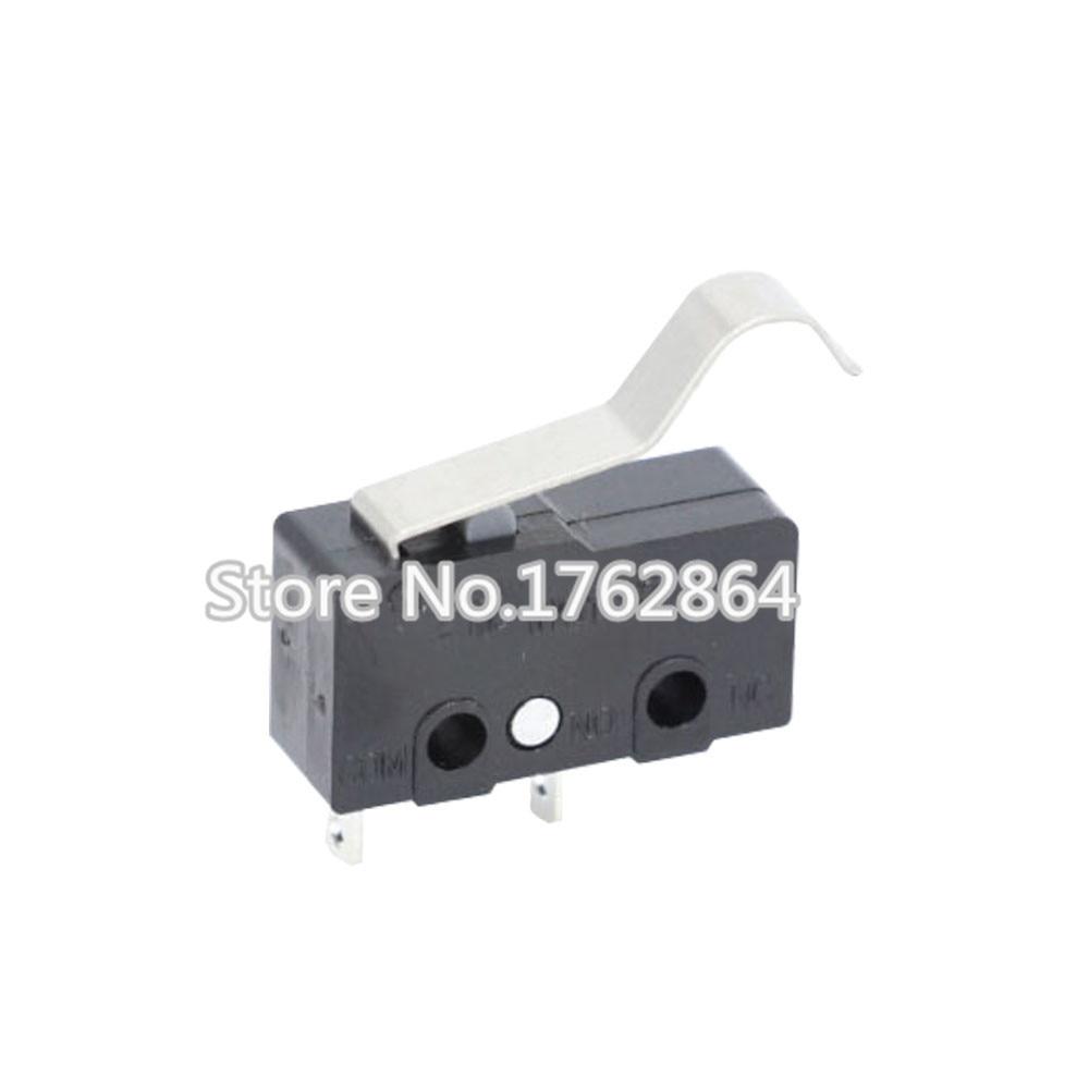 100PCS/LOT All New Limit Switch 2pin N/O N/C 5A250VAC KW11-3Z Mini Micro Switch Original salesLaser Machine Micro Limit Sensor