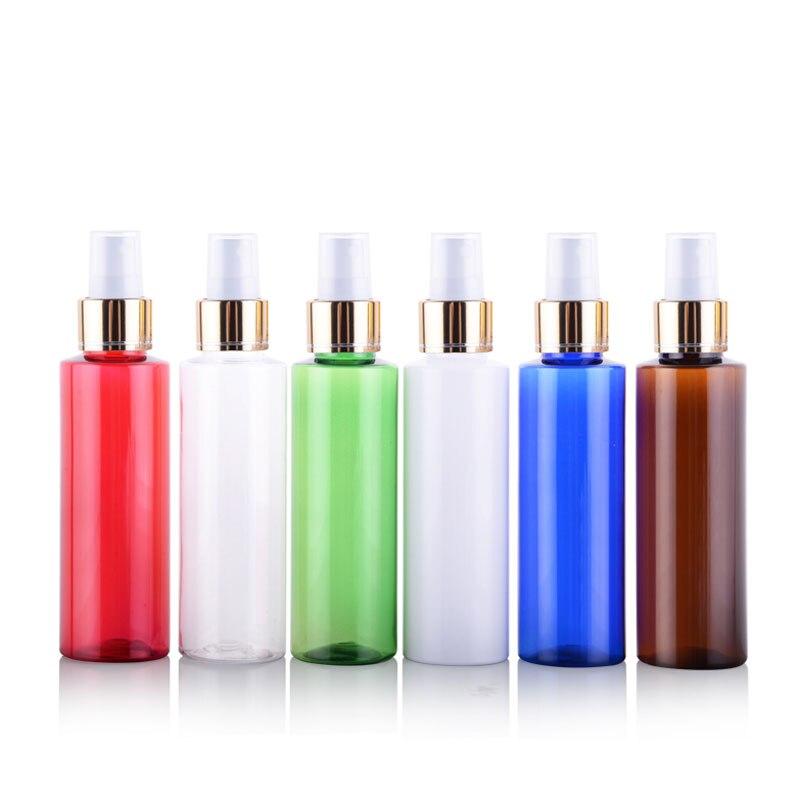50 X 100ml Refillable Empty Plastic Spray Pump Bottles Perfumes And Fragrances Makeup Setting Mist Sprayer