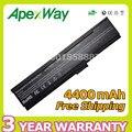 Apexway 4400 mah batería para acer aspire 3050 3600 3680 5500 558x555x5550 5030 5570 travelmate 24xx 321x4310 4ur18650f-2-qc218