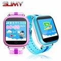 Toper crianças smart watch q750 gps do relógio de pulso com wifi tela sensível ao toque de 1.54 polegada chamada sos localização rastreador anti-lost monitor de gps