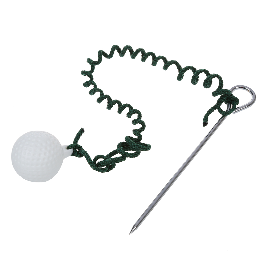 Golf Driving Ball Swing Hit Practice Training Aid