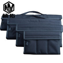 EDC – sac de rangement pour outils, en Fiber de carbone, plusieurs Styles, housse de couteau pliante, Nylon, sac de rangement multi-poches, 1 pièce