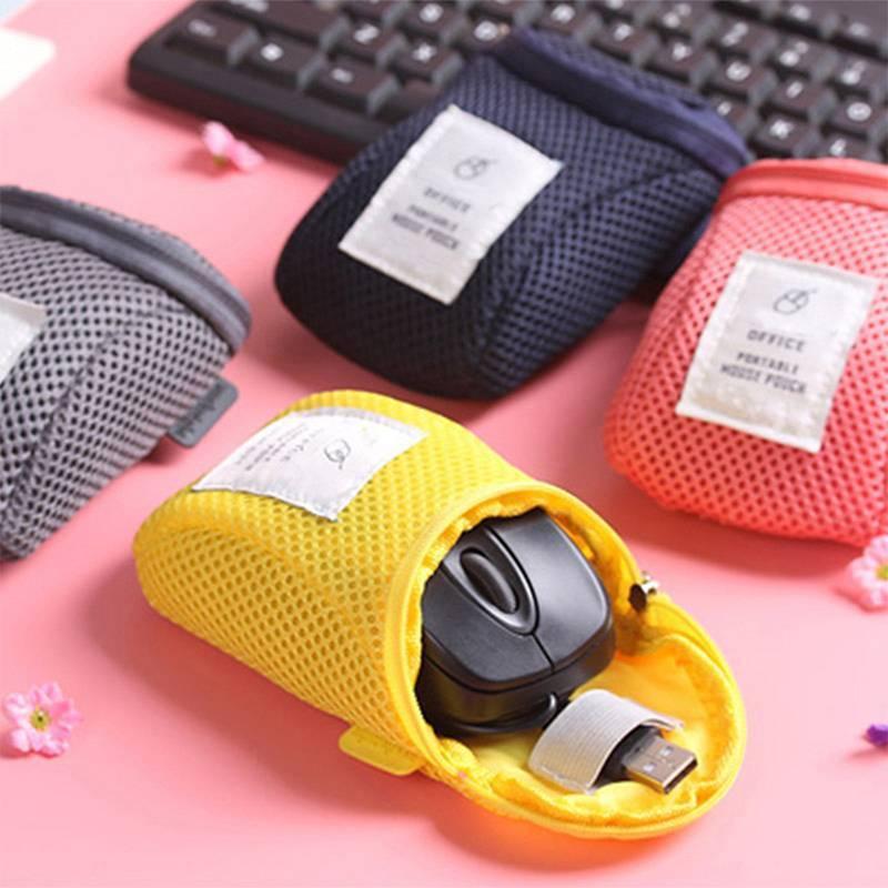 Противоударная сумка для хранения мыши, зарядное устройство, сумка для питания, дорожный портативный органайзер для наушников и USB проводов...