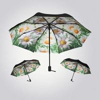 Van Gogh Rain Umbrella Automatic Folding Sun UV Women Unique Personalized Male Novelty Umbrella Vintage Decoration Modis 40YS152