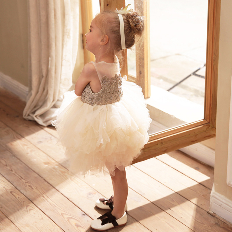 2018 winter baby kids girl dress toddler princess party floral print tutu dresses for girls children casual home wear clothes 2018 winter lace flowers girls dresses children tutu princess dresses for girls baby print girl party dress kids girls clothes