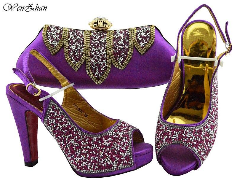 Bébé 1 B93 Élégant Sacs La Ensemble Mode Sac De Chaussures Escarpins Partie Strass Vert Pour Et 12 Cm Date Avec Assorti Femme f1q8Bw8gR