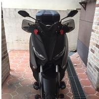 Modified Motorcycle xmax PC smoke handguard hand guard wind protector cover for yamaha xmax 250 300 2017 2018 2019