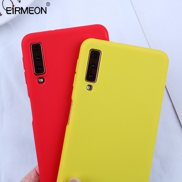 Candy Phone Case For Samsung Galaxy A7 2018 A750F Cases Soft TPU Cover For Samsung Galaxy s10 S10E S10 S8 S9Plus J4 J6 2018 Plus