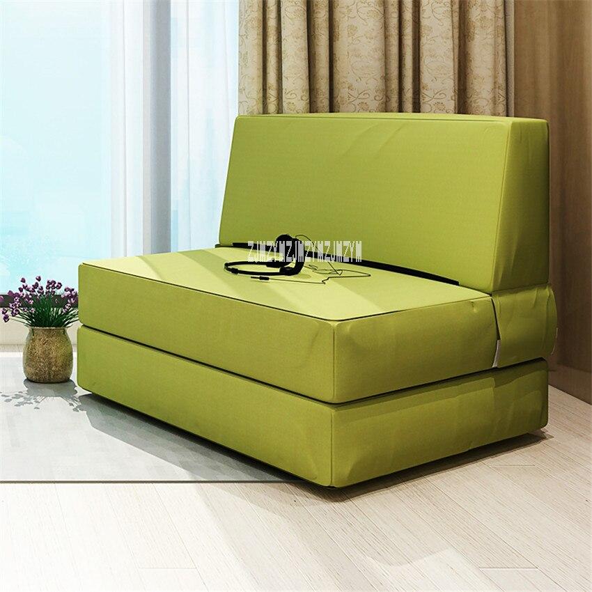 N826 salon moderne Simple lit de couchage Tatami canapé chaise confortable multifonction lavable paresseux canapé éponge pliable canapé