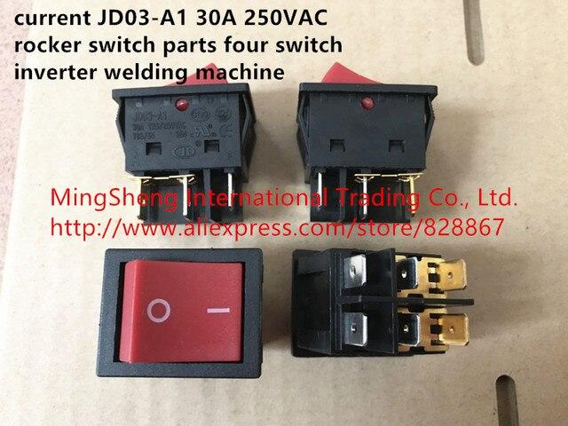 Original new 100% current JD03 A1 30A 250VAC rocker switch parts ...