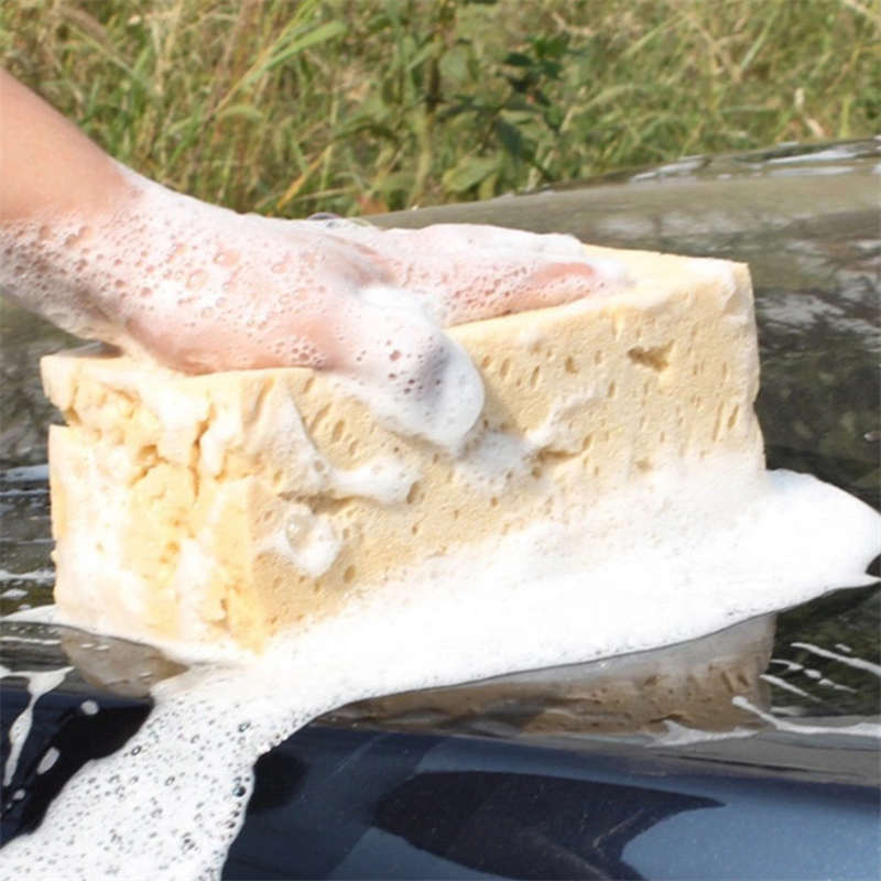 DoreenBeads Large Size Magic Sponge Window Car Kitchen Helpful Tool Household Cleaning Washing Tool About 21*11*9cm 1PC