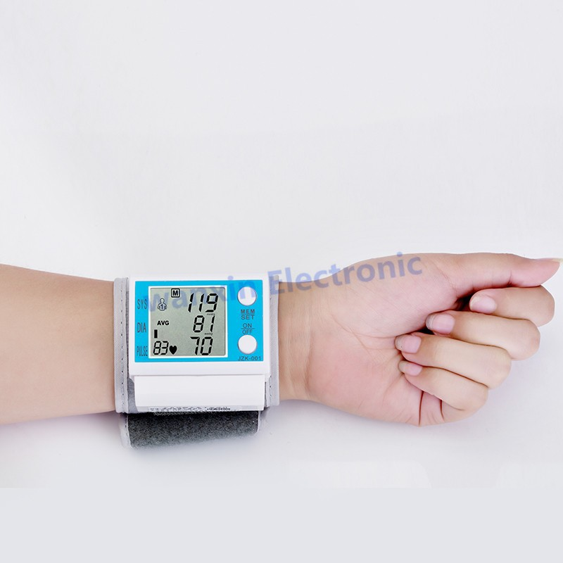 16 New Household Health Monitors Wrist Blood Pressure Monitor Automatic Digital Medical Equipment Health care Sphygmomanometer 8