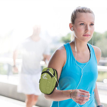 Free Knight Running Arm Bag Pouch Jogging Gym Armband Case Workout Wrist Outdoor Cellphone Pack Accessories