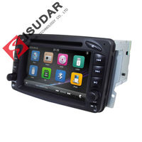 Wholesale Two Din 7 Inch Car DVD Player For Mercedes Benz CLK W209 W203 W168 W208