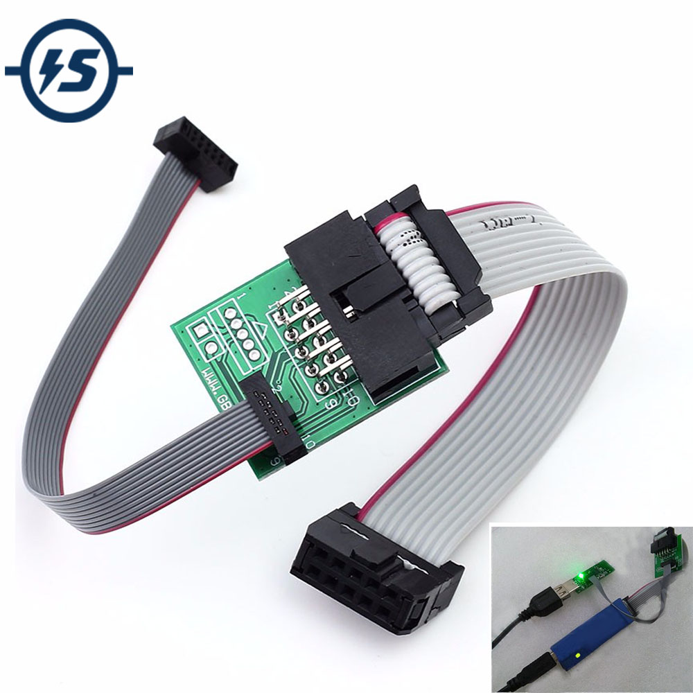 Downloader Cable Bluetooth 4.0 CC2540 zigbee CC2531 Sniffer USB dongle&BTool Programmer Wire Download Programming Connector ゲーム ポート ピン