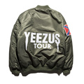 Камуфляж Полет Бомбардировщик Куртка пальто jaqueta masculina Весте Homme Военная Хип-Хоп YEEZUS Бомбардировщик Куртка Мужчины Kanye West M167