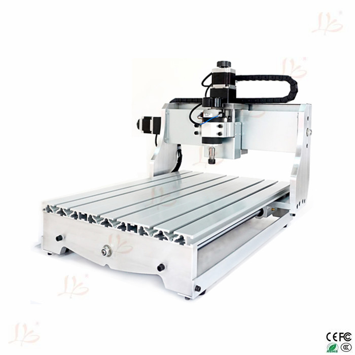 hot sale! 110V/220V mini cnc router machine  4030 T-D300 cnc drilling and milling machine for woodworking cnc 5axis a aixs rotary axis t chuck type for cnc router cnc milling machine best quality