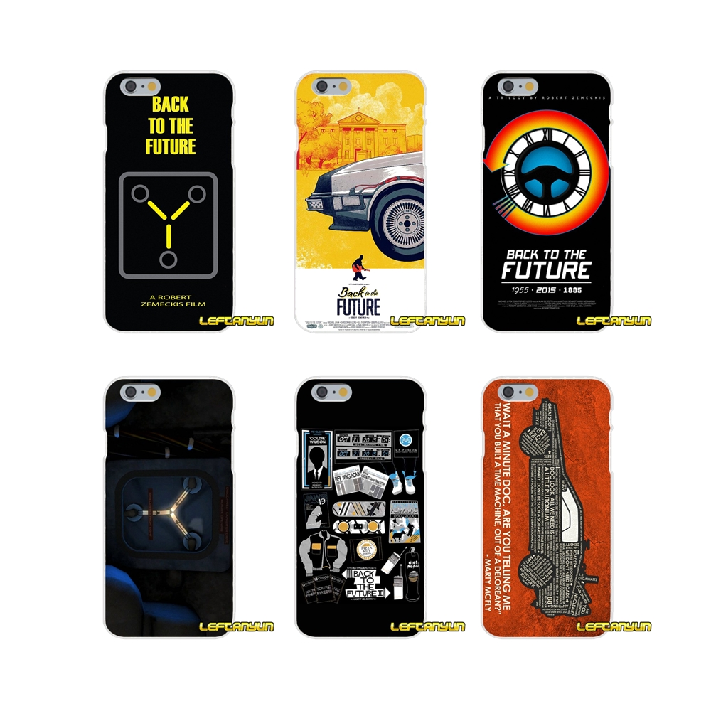 For Sony Xperia Z Z1 Z2 Z3 Z4 Z5 compact M2 M4 M5 E3 T3 XA Aqua Back to the Future Time Machine Soft Phone Cover Case Silicone