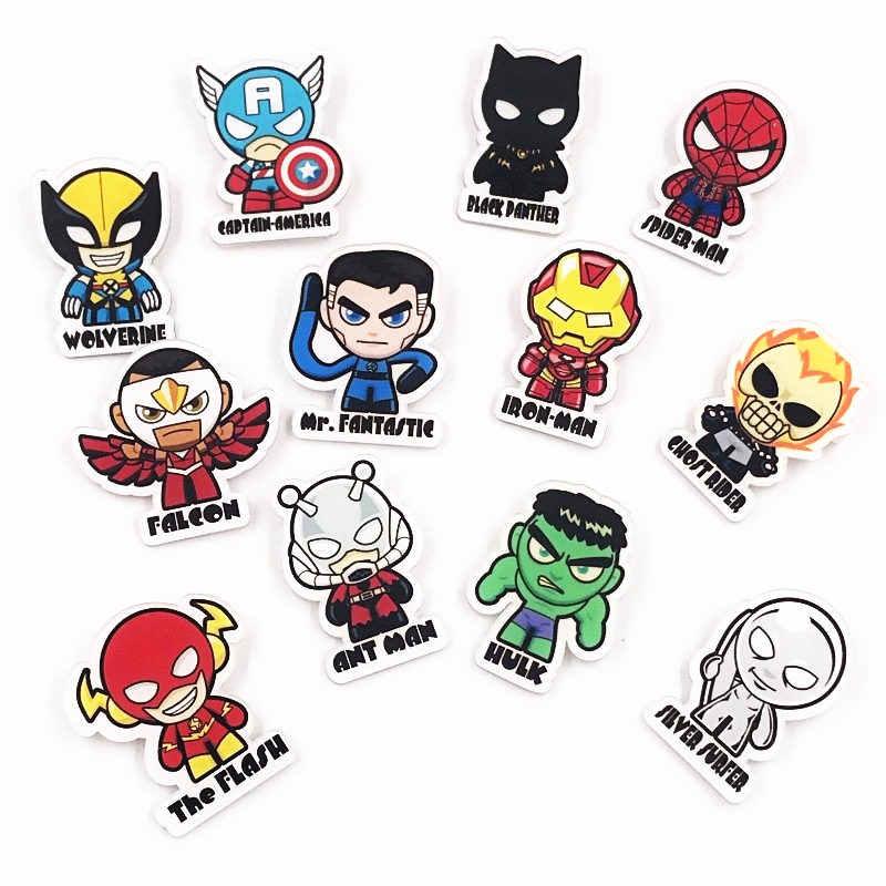 1 Pcs Marvel Homem De Ferro Broches para As Mulheres Crianças Lapela Pin Roupas Mochila Emblemas Decoração Presente de Aniversário