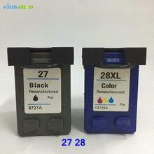 Einkshop Ink Cartridge For HP 27 28 for DeskJet 3320 3323 3325 3550 3650 OfficeJet 4315 4350 5510 PSC 1310 1315 ink hp27