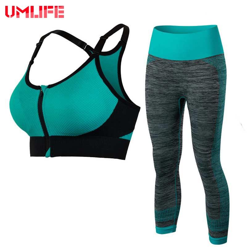 UMLIFE Dámská jóga sada Sportovní oblečení Jóga podprsenka - Sportovní oblečení a doplňky