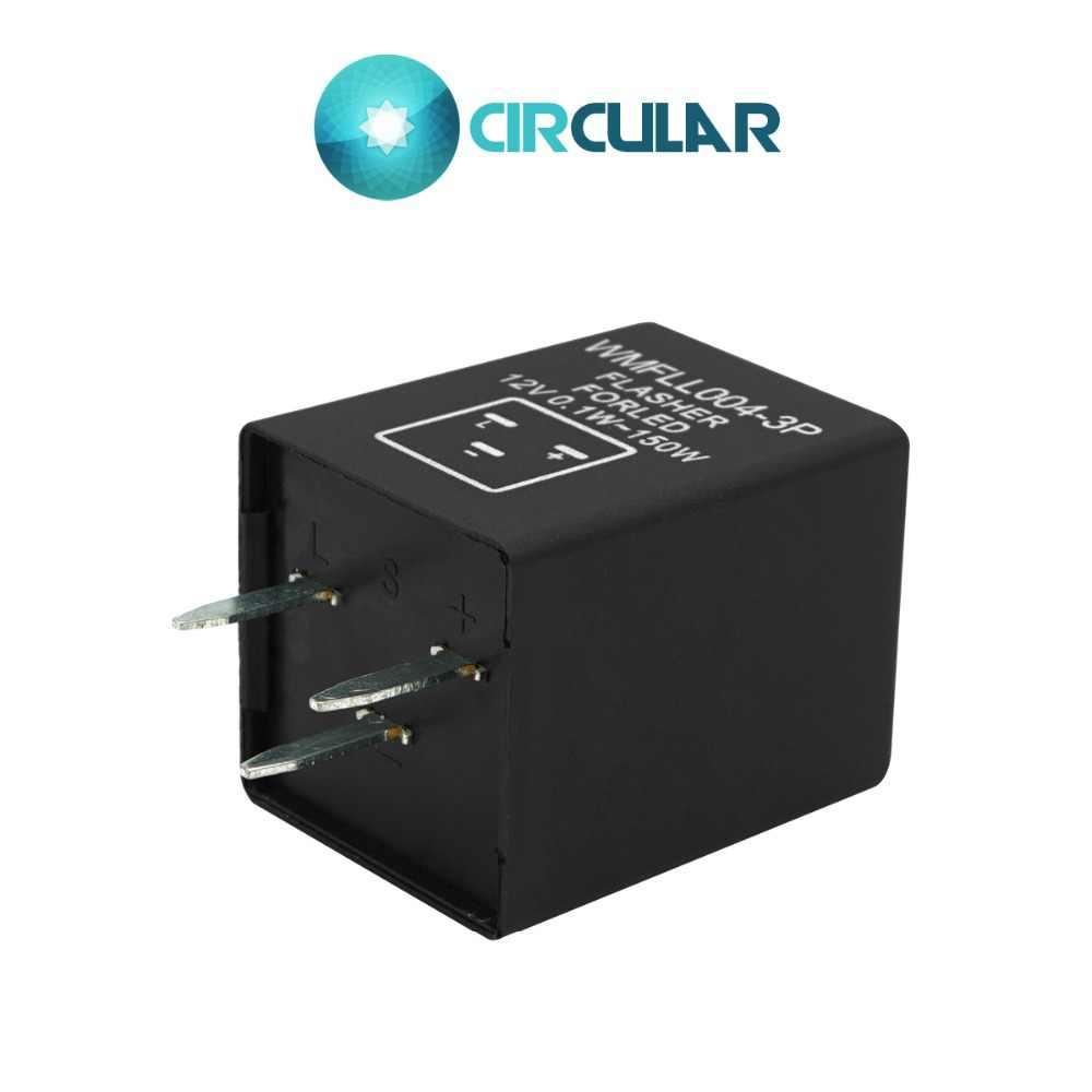 Ayarlanabilir Frekans Flaşör Evrensel Su Geçirmez Dönüş Sinyal Göstergesi 3Z 3 PIN 12V 0.1 W-150 W Su Geçirmez Anahtarı