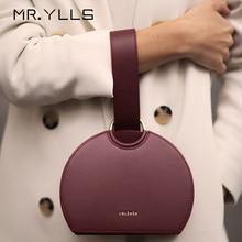 Fashion Semicircle Handbags Women Brands Top-handle Pu Leath
