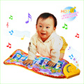 1pcs Baby Kid Child Piano Music Fish Animal Mat Touch Kick Play Fun Toy Gift New