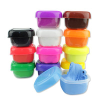 Free Shipping 12 Colors Floam Slime Scented Stress Relief No Borax Kids Toy Sludge Toys ES