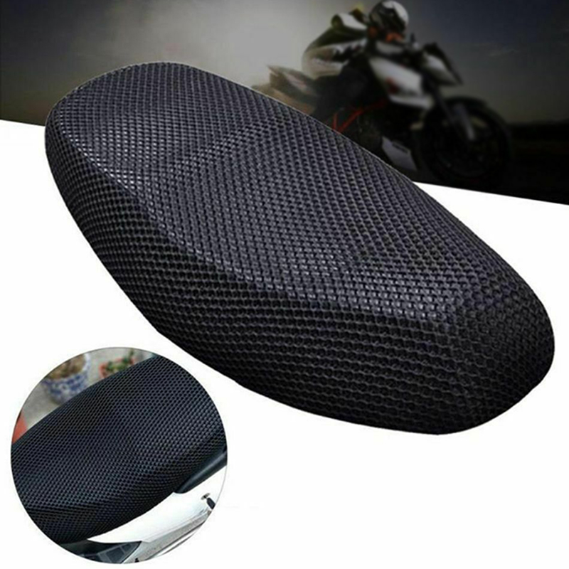 Breathable Electric Bike 3D Mesh Protectors Cushion Motorcycle Net Seat Cover AU(China)