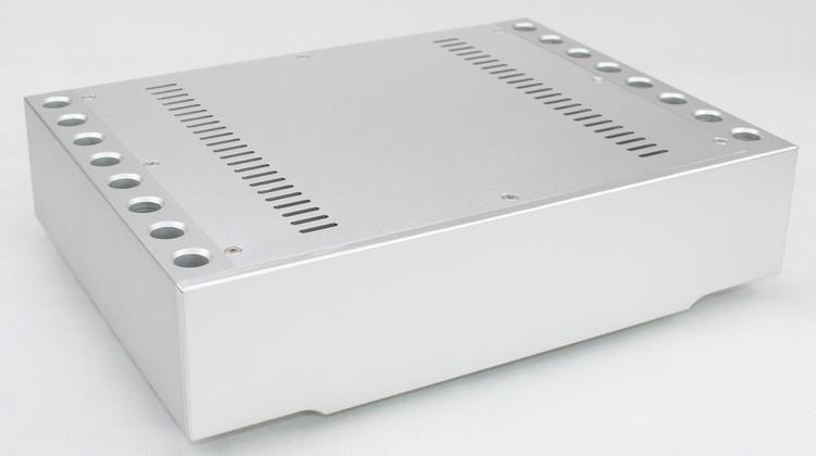 amplifier chassis WA72 aluminum enclosure 270 * 360 * 86MM amp case wa72 aluminum chassis enclosure box case shell for audio amplifier 270x360x86mm