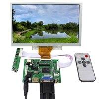 Hdmi vga 2av lcd 컨트롤러 보드 + 8 인치 800x480 at080tn64 lcd 화면