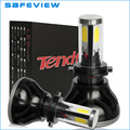 For LED COB Chip Car Headlight H7 H4 H8 H9 H11 HB3 9005 HB4 9006 40W 4000LM 6000K Automobiles External LED Bulbs Kit