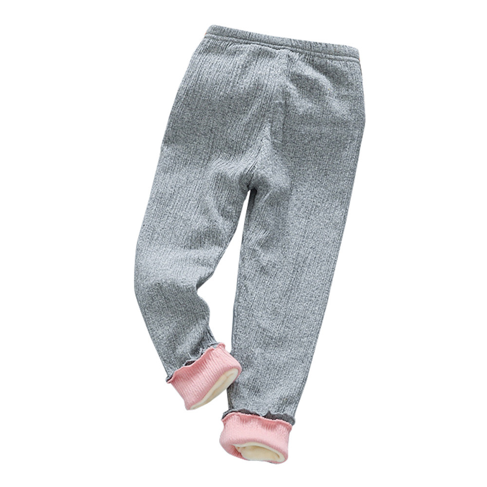 Humorvoll Telotuny Leggings Winter Legging Kinder Mädchen Winter Kleidung Warme Hosen 25c0419 GroßEr Ausverkauf Leggings Mädchen Kleidung