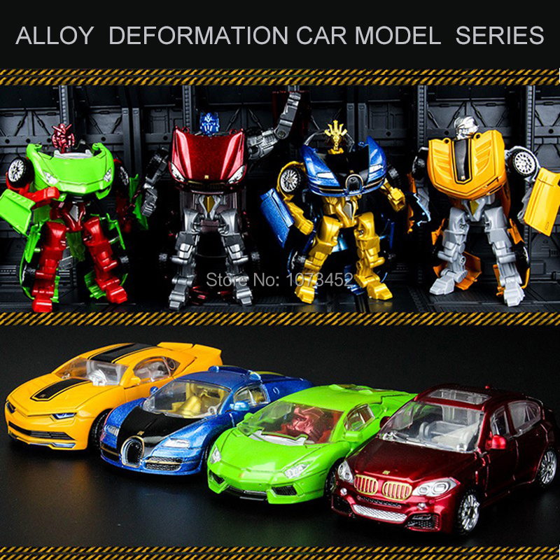 1:36 simulation cool deformation car model series diecast transformers robot brinquedo menino action figures toys for boys