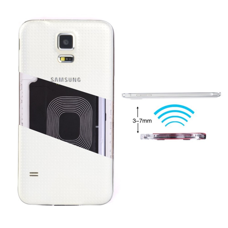 Dulcii For S5 G900 Qi Wireless Charging Receiver Standard No Wire ...