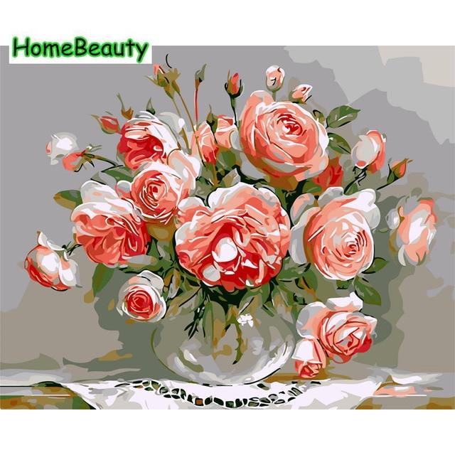 Accueil Beauté numérique peinture à l'huile par numéros