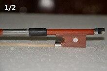 V000201 High quality violin bow size 1/2 violino Bow Horse hair violin accessory bow accessories para violino