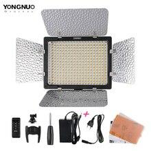 חדש Yongnuo YN300 III YN 300 ליל 3200k 5500K CRI95 מצלמה תמונה LED וידאו אור עם מתח AC מתאם