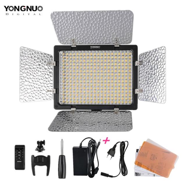 جديد Yongnuo YN300 III YN 300 lIl 3200k 5500K CRI95 كاميرا صور LED الفيديو الضوئي مع التيار المتناوب محول الطاقة