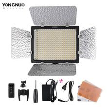 Светодиодный светильник Yongnuo YN300 III, светильник для фото и видеосъемки, 3200k 5500K, с адаптером питания переменного тока