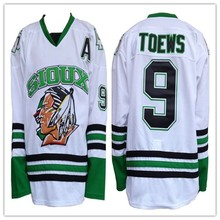 North Dakota Fighting Sioux Jonathan Toews College Hockey Jersey Embroidery  Stitched Customize any number and name 69d3a0640