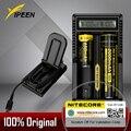 Original Nitecore UM20 Inteligente Pantalla LCD Cargador de Batería Cargador de Batería con el Cable Usb para el cargador 18650 10440 17500 14500