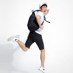 Image 5 - Mixi Fashion Men Backpack One Shoulder Chest Bag Male Messenger Boys University School Bag Causal Work Travel 17 19 inch M5207