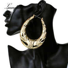 Fashion Big Round Dangle Earrings Hip-Hop Large Circle Drop Earrings Dancing Club Iron Jewelry Accessories For Women Charm Gifts цена