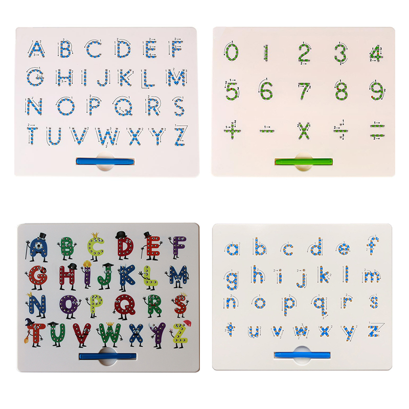 Magnet Pad Drawing Board Drawing Pen Toys For Children Pen Paint Ball Magnetic Tablet Magnetic Pen Beads Learning Notebook